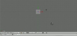 Adjust the camera angle via the trackball in Blender