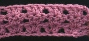 Crochet a shell with 3 double crochet