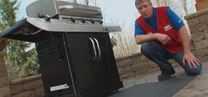 Clean a barbeque grill and grill grates with Lowe's