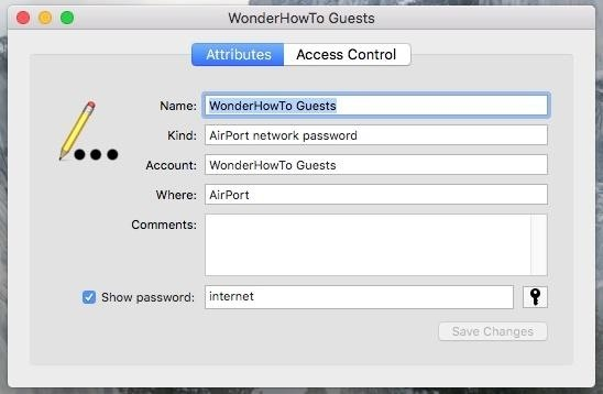 how to add a password to my wifi network