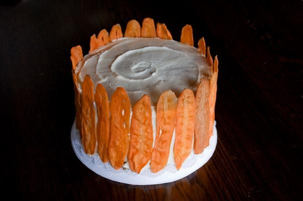 RECIPE: That Carrot Cake Looks Fancy!