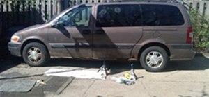 Jack Up a Chevy Venture Van