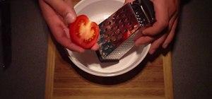 Make pan tumaca (spanish breakfast toast)
