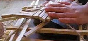 Use arapuca in a bird trap