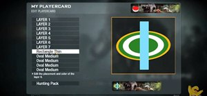 Make an easy Green Bay Packers logo Call of Duty Black Ops emblem