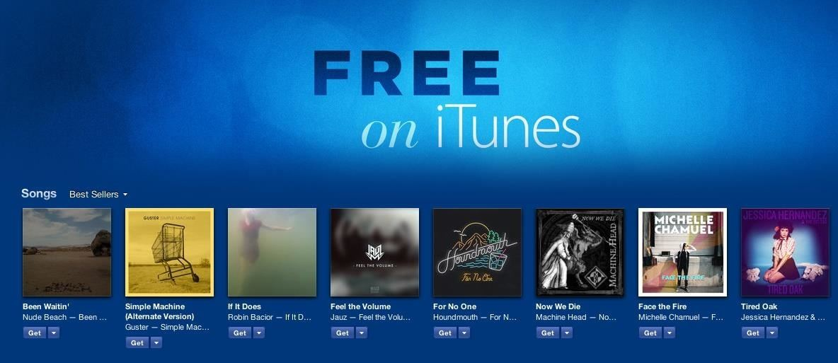 how to get free songs on itunes on computer
