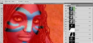 Paint on top of a photograph in Adobe Photoshop CS5