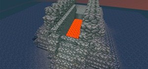Build a Hidden Drawbridge with Redstone in Minecraft