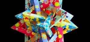 Origami a tetrahedra