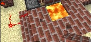 Build an obsidian generator in Minecraft 1.8.1