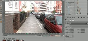 Integrate the Xplode plugin into real footage in C4D