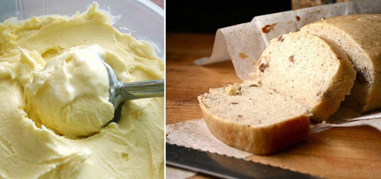 Turn a Pint of Ice Cream into a Freakin' Loaf of Sweet Bread