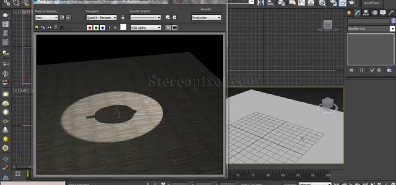 Use Bake Textures in Autodesk 3DsMax