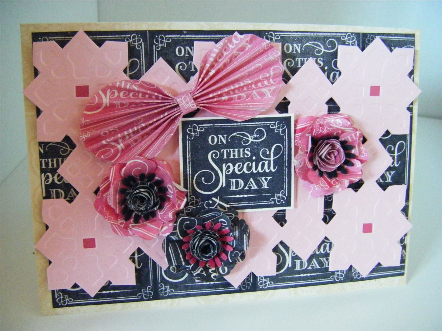 How to Make Chalkboard Embossed Celtic Link Card