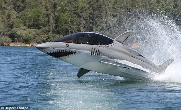 Deadly Shark Submarine Sure to Freak Out Beach Goers