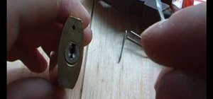 How to Pick a lock using two paperclips « Cons :: WonderHowTo