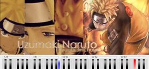 "Play ""Sadness & Sorrow"" from Naruto on the piano"