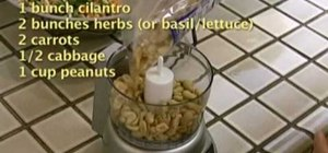 Make fresh spring rolls