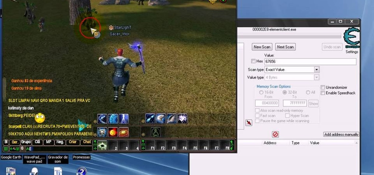 How to Use Cheat Engine to hack the game Perfect World