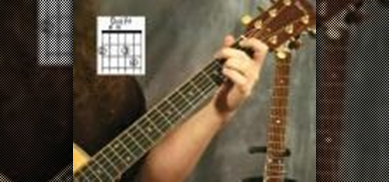 How to Play the D add F sharp chord on your acoustic guitar ...