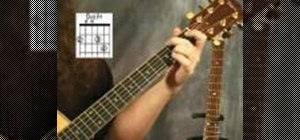 Play the D add F sharp chord on your acoustic guitar