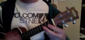 "Play the song ""Watcha' Say"" by Jason Derulo on ukelele"