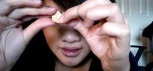 Make mini 3D origami stars