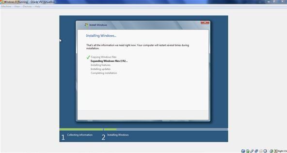 How to Install Windows 8 Beta on VirtualBox