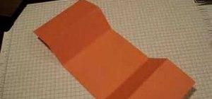 Make a tri-fold card