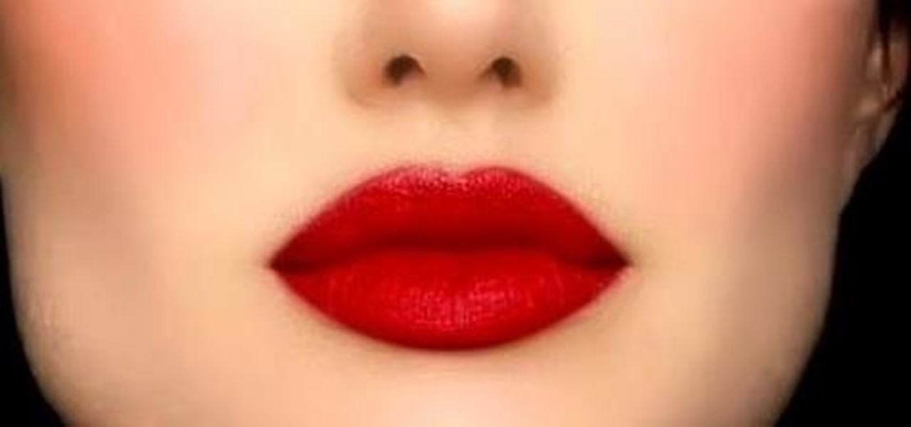 Get Perfect Red Lips!