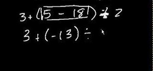 Use the order of operations to evaluate expressions