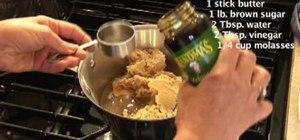 Make molasses clove taffy with Jamie Ciocco