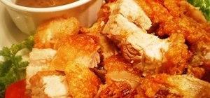 Make Filipino lechon kawaii (pan-roasted pork)