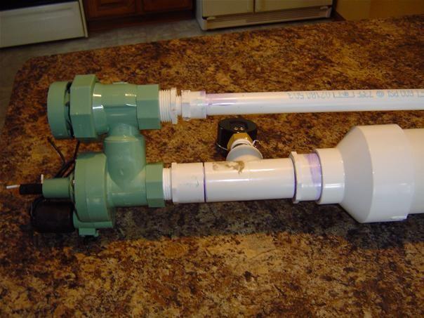 Potato Gun w/ Pressure sensor