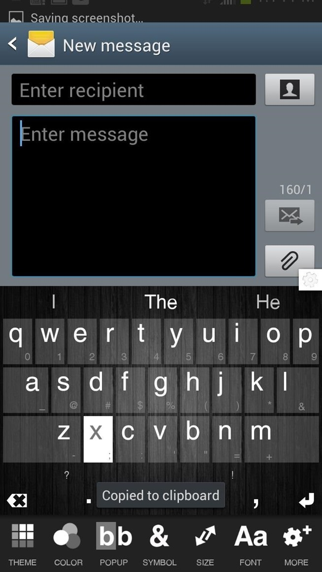 how to add words to android dictionary s3