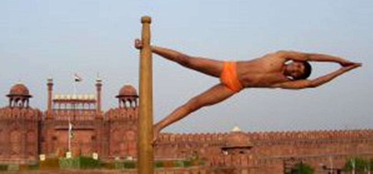Insanely flexible indian dudes put pole dancers to shame 171 gymnastics