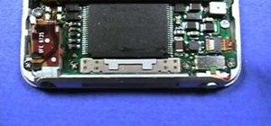 Take apart a 3rd generation Apple iPod generation Nano