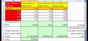 Analyze a stock portfolio with Excel array functions