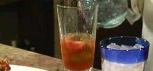 Mix a Ciapirita de lychee cocktail