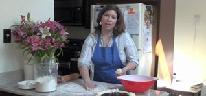 Make a double lattice pie crust for fruit pies