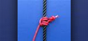 Tie the Blake's Hitch knot with a knot tying animation
