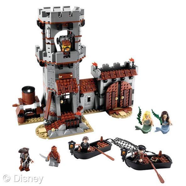 Lego Sets for Pirates of the Caribbean on Stranger Tides