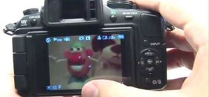 Adjust ISO on a Panasonic G1 or GH1 digital camera