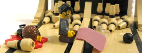 There will be blood done in LEGO
