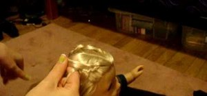 Do reverse French braids on your American Girl doll