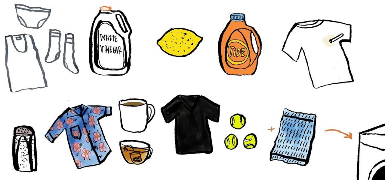 How To Clean Color Stains From Clothes