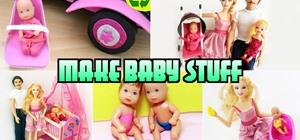 how to how to make doll barbie slippers kids activities. Black Bedroom Furniture Sets. Home Design Ideas