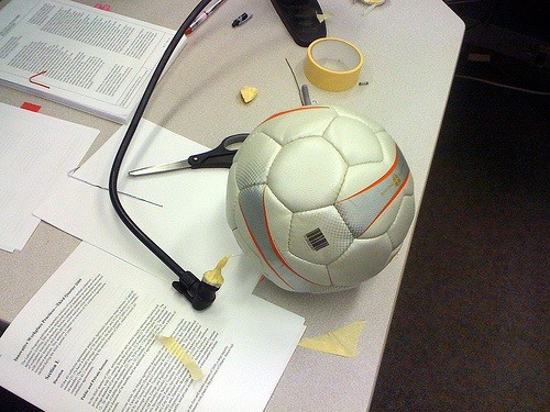 How to Inflate Any Ball Without a Pump or Needle