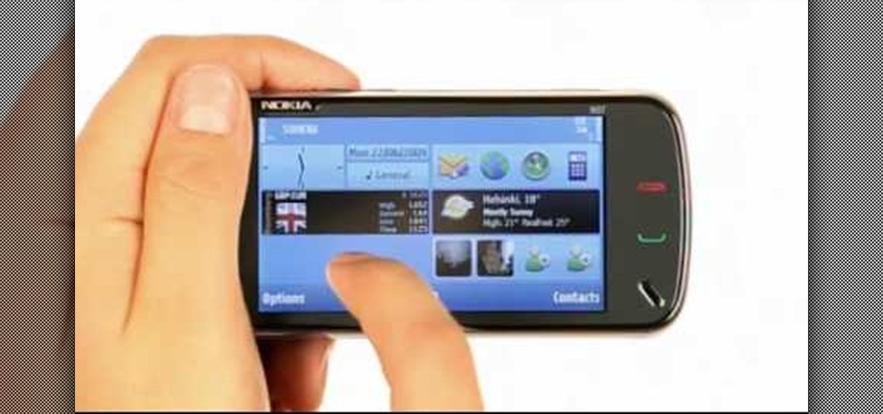 How To Add Hide And Remove Home Screen Widgets On A Nokia