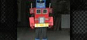 Make a Transformers costume